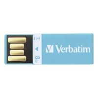 CLE USB VERBATIM CLIP-IT USB 2.0 8 GO BLEU
